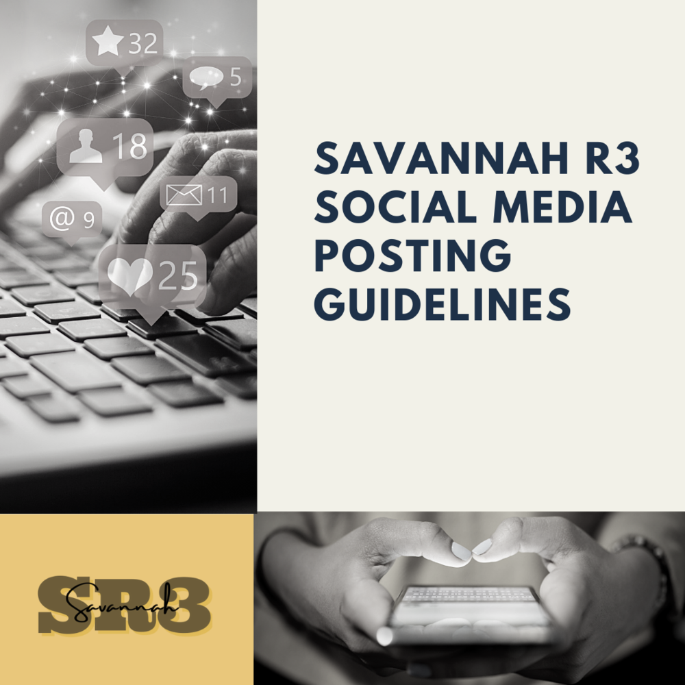 SR3 Social Media Posting Guidelines
