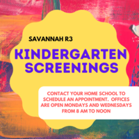 Kindergarten Screenings Rescheduled