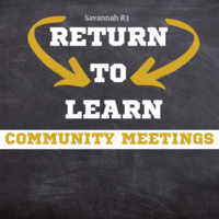 Return to Learn Community Meetings