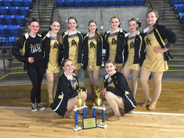 Dance Team Finishes Their Season with a Bang