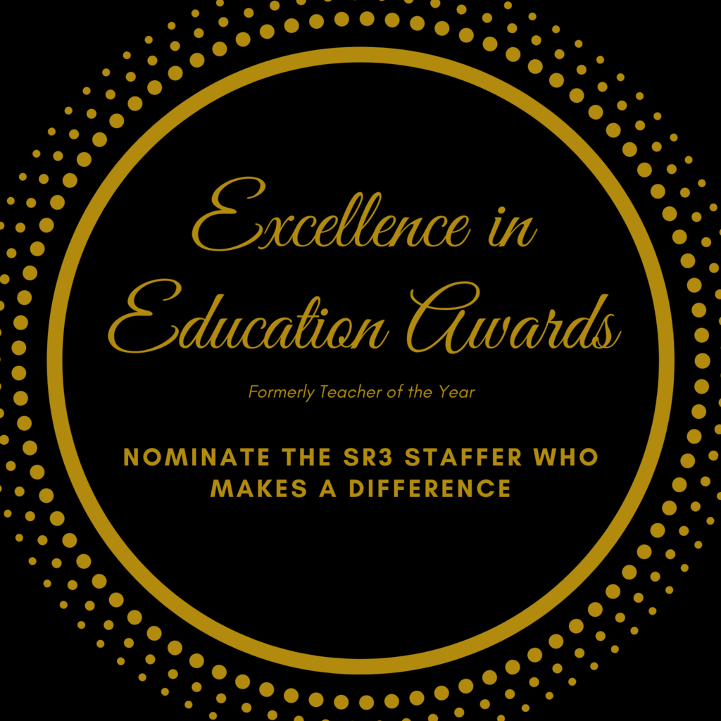 Excellence in Education Award Nomination Form