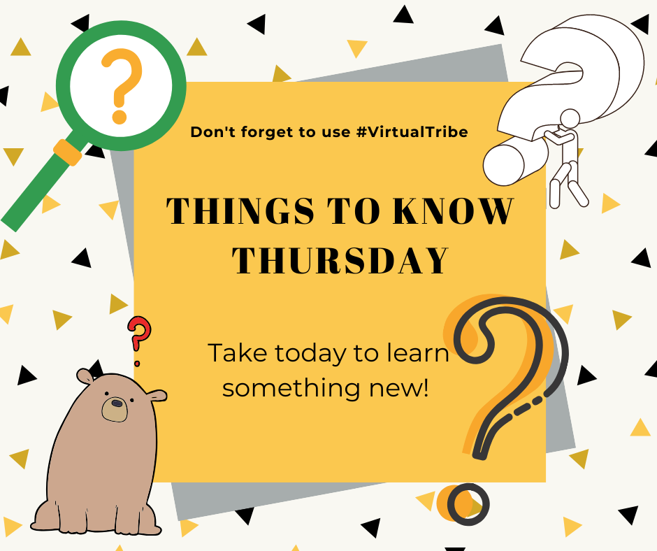 Things to Know Thursday