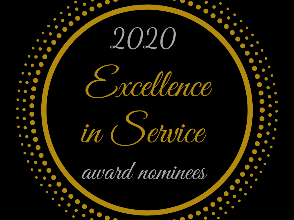 Excellence in Service Award Nominees