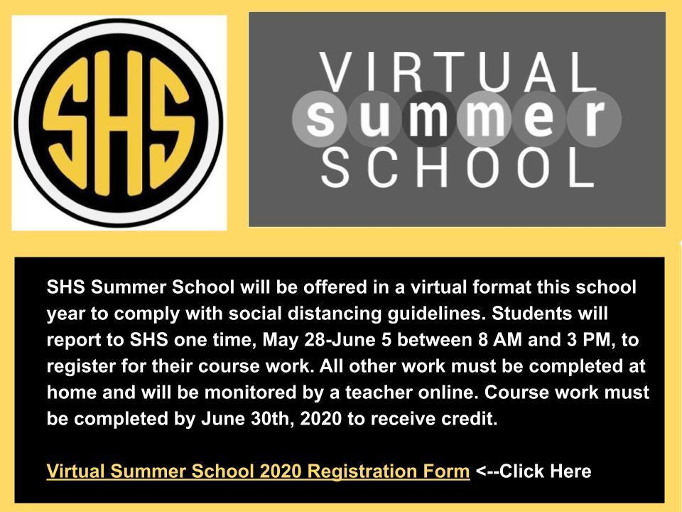 Information about HS summer school for more information call 816-324-3128